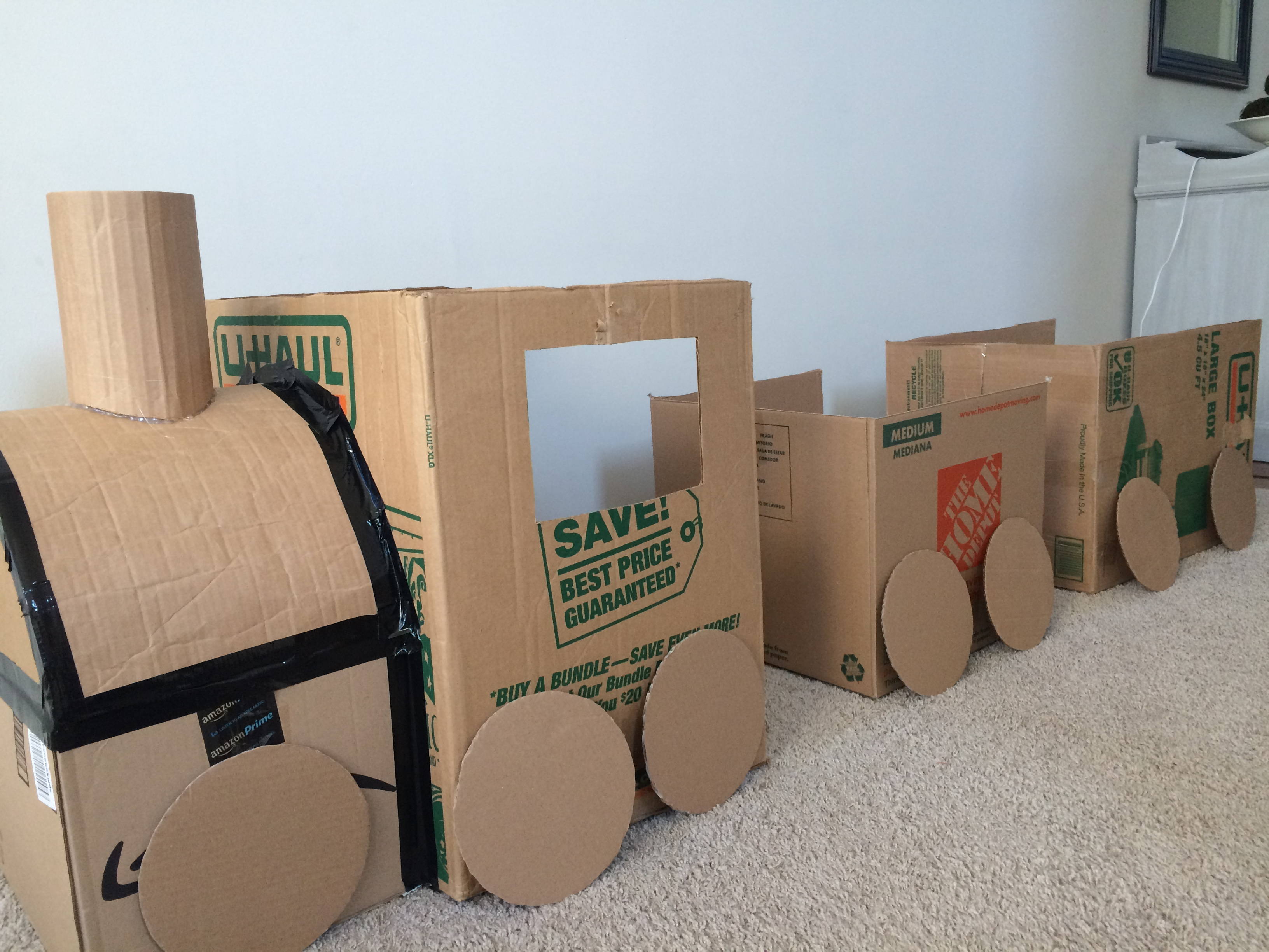 Préférence DIY Cardboard Train | Learning For Littles GM33